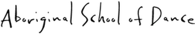Aboriginal School of Dance Logo